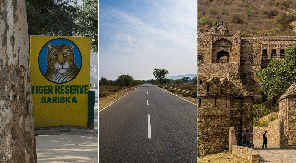 Biking solo to Sariska-Bhangarh-Alwar!