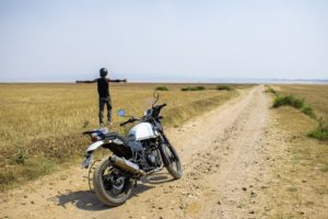Biking to Bathu ki Ladi