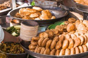Street food- Haridwar