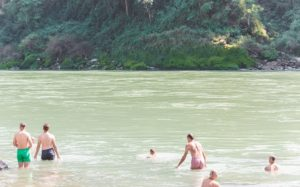 Dip in the holy river.