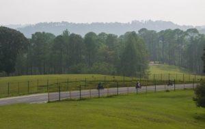 Upper golf course